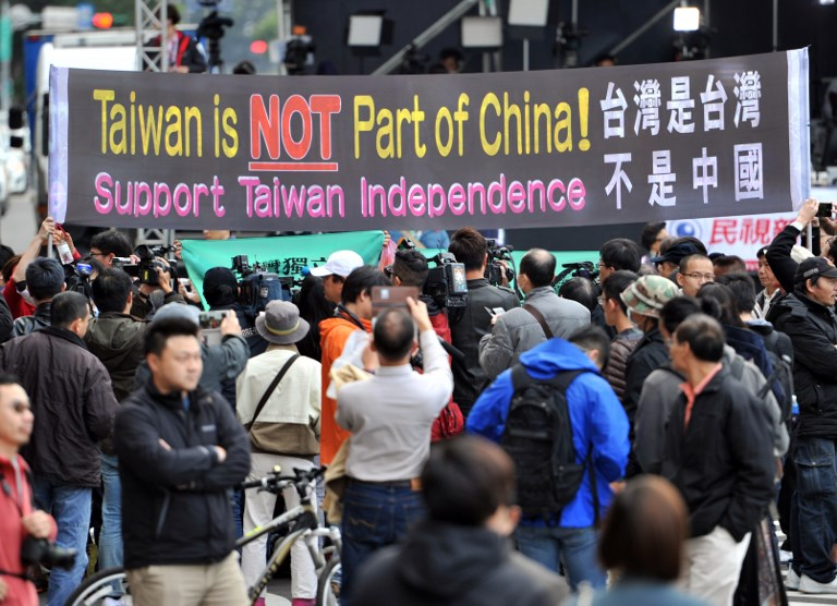 Taiwan pro-independence