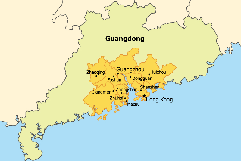Guangdong-Hong Kong-Macao Bay Area