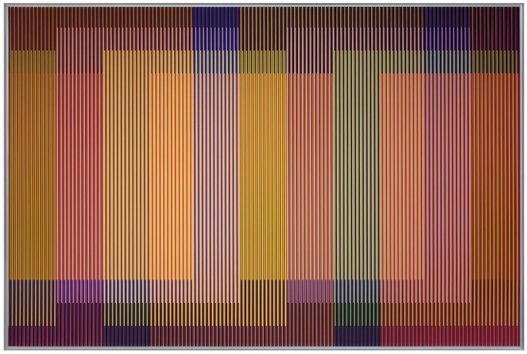 art central 2018 hong kong Carlos Cruz-Diez Physichromie 1928-2014.