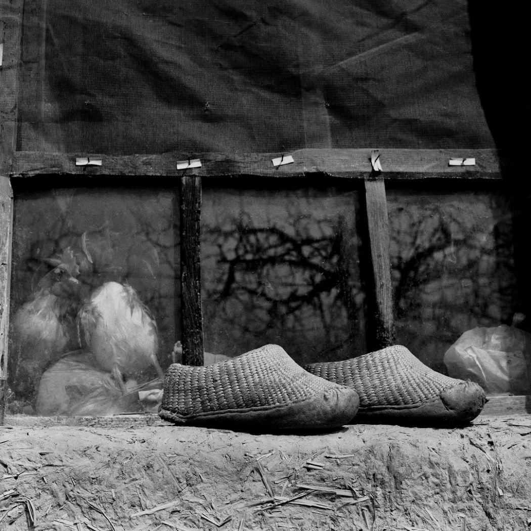 Bound feet foot binding