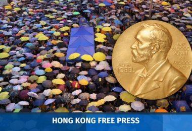 hong kong democracy nobel