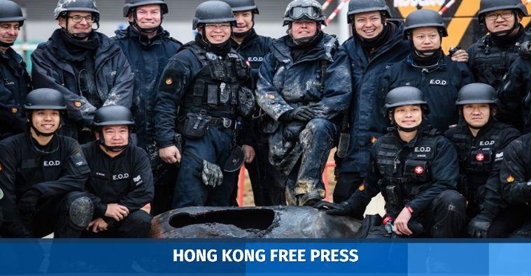 bomb hong kong wwii disposal