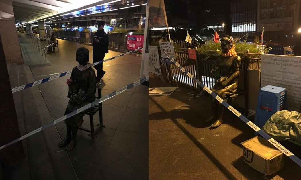 comfort women statues theft