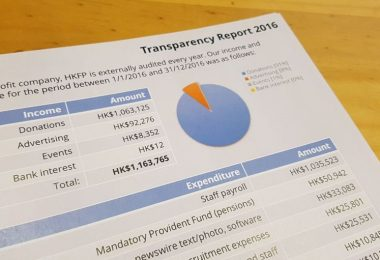 hong kong free press transparency report