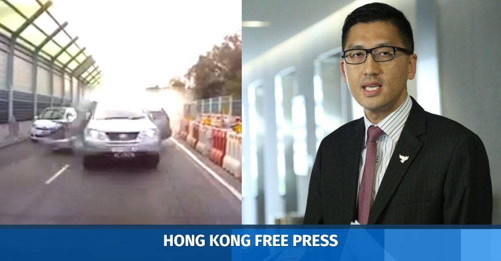 showdown as police surround hong
