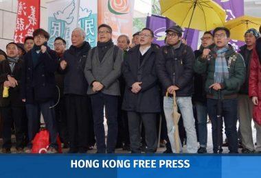 Occupy defendants