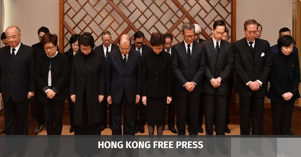 govt officials mourn