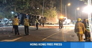 Tai Po bus crash