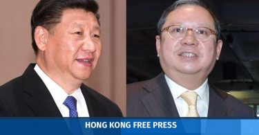 Peter Lam Kin-ngok Xi Jinping