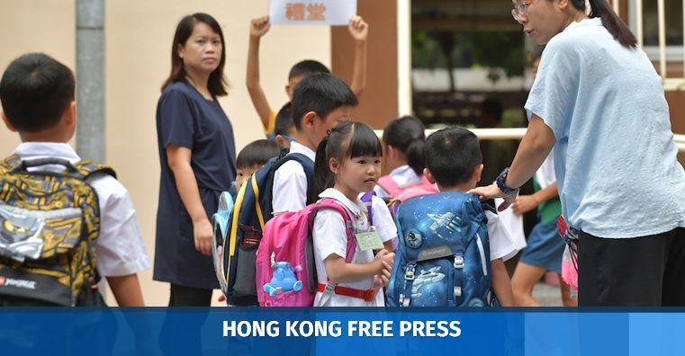 school students hong kong