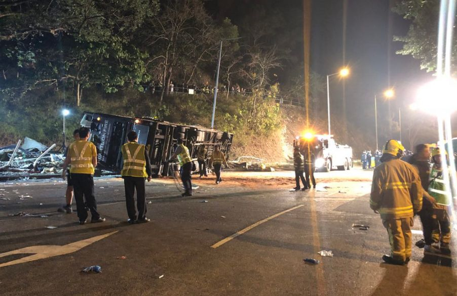 tai po bus crash kmb