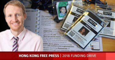 hong kong free press tom grundy