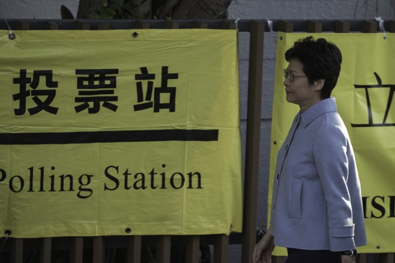 Hong Kong's Pro-Democracy Opposition Loses Ground in Election