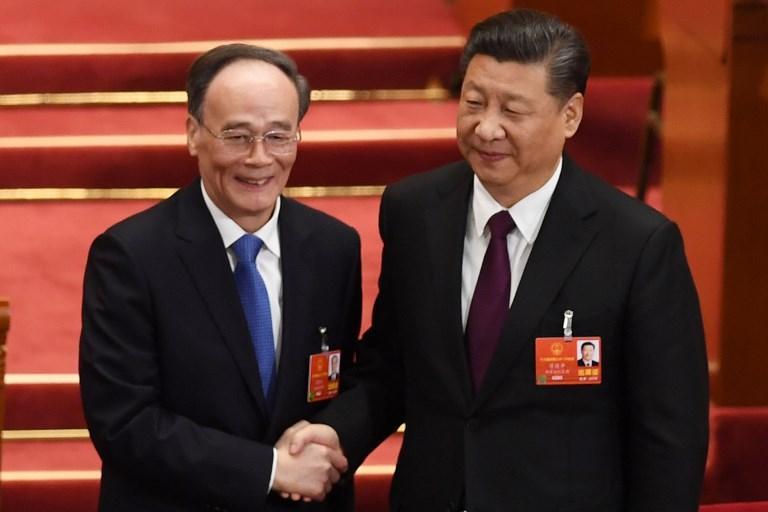 Wang Qishan xi jinping