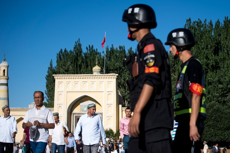 china xinjiang security