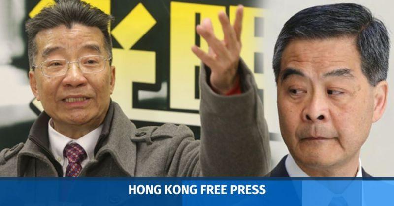 Lew Mon-hung CY Leung