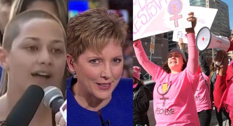 women's activism in 2017