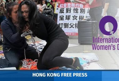 womens day protest