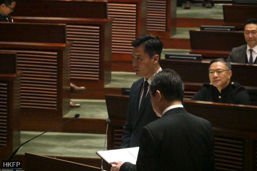 Vincent Cheng oath