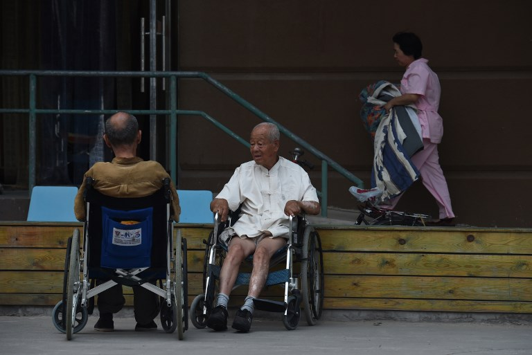 elderly chinese