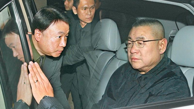Steven Lo Kit-shing Joseph Lau Luen-hung
