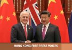 australia and china