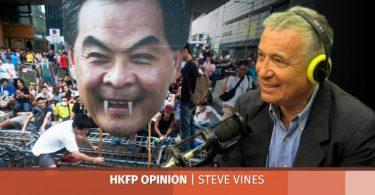steve vines cy leung