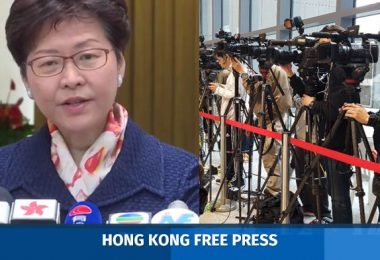 carrie lam press freedom