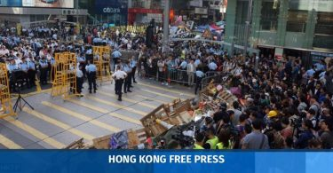 Occupy Mong Kok clearance