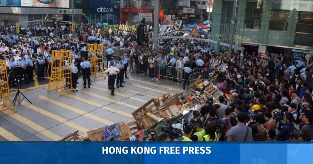 Occupy Mong Kok clearance