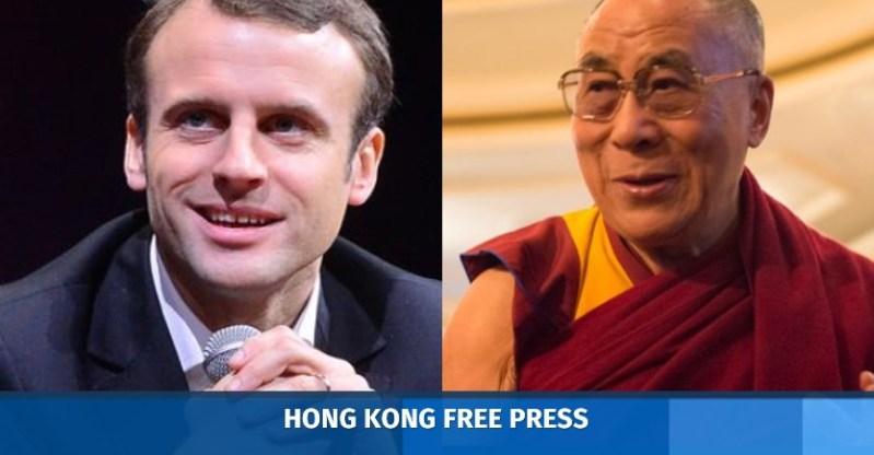 macron dalai lama