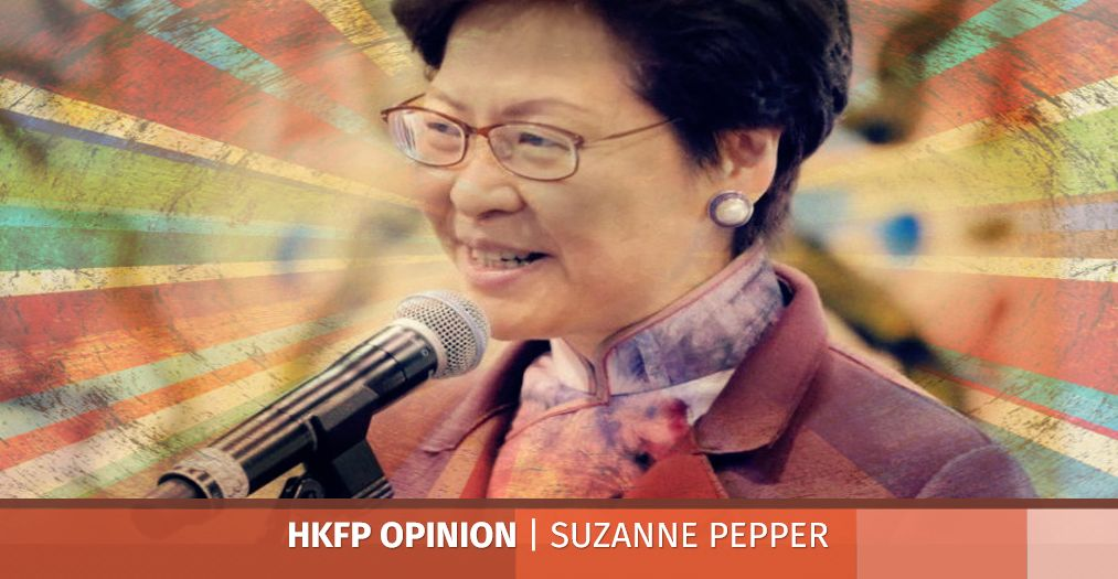 Carrie Lam censorship