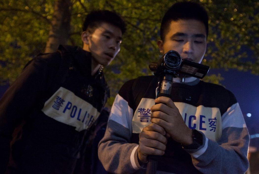 police free speech rally benny tai