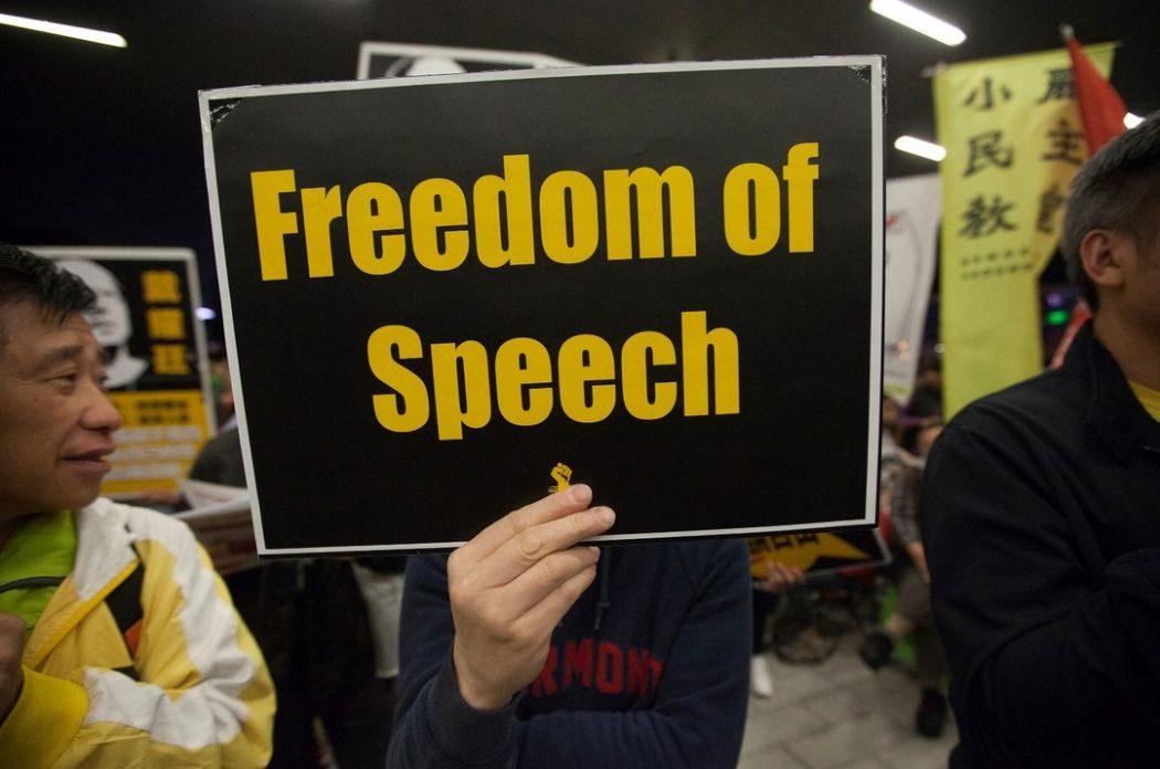 freedom protest rally benny tai free speech