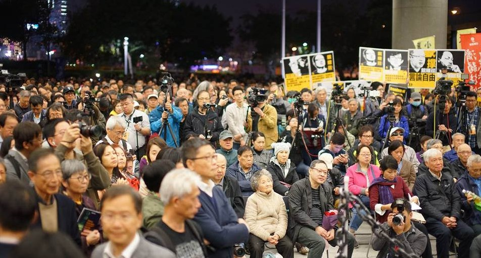 protest rally benny tai free speech