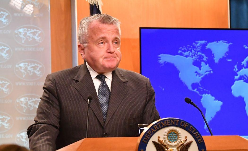 US acting secretary of state John Sullivan