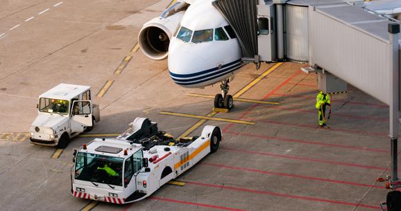 aviation ground crew airport