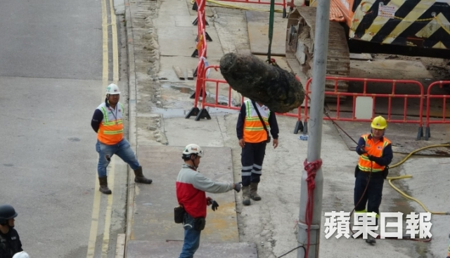 Police defuse WWII bomb found at Hong Kong construction site
