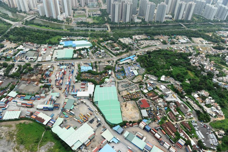 Brownfield site Hung Shui Kiu New Development Area