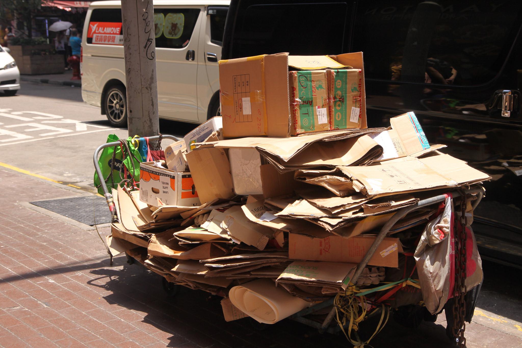 cardboard recycler