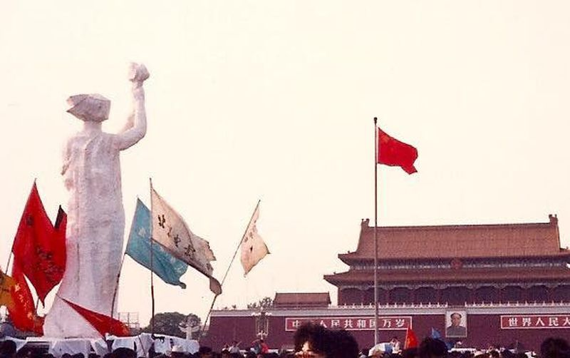 Tiananmen Goddess of Democracy