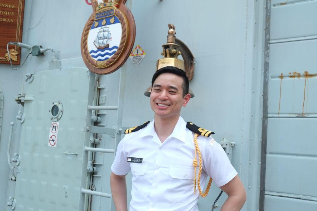Flag Lieutenant Eric Poon