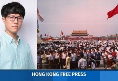 Tiananmen vigil Michael Mo