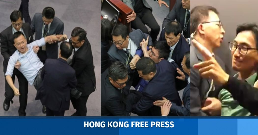 Video: Drama at legislature as democrats booted from final meeting