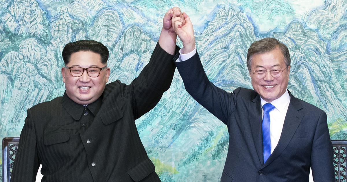 Kim Jong-un Moon Jae-in