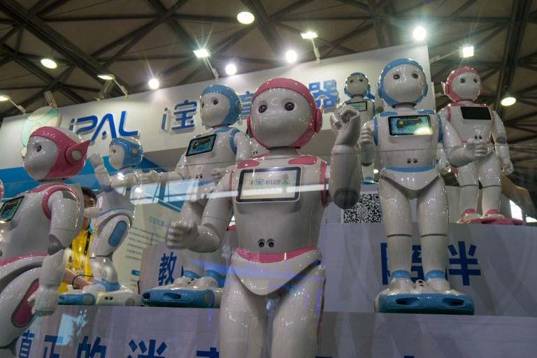 robot china friend
