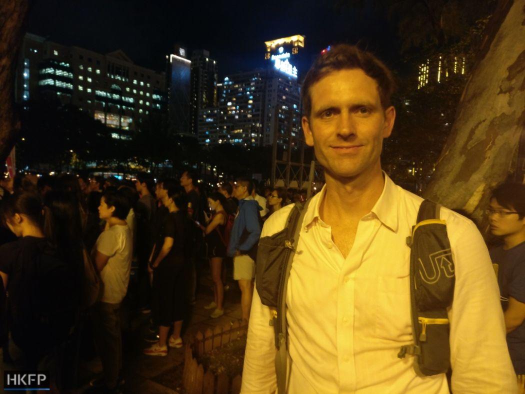 William Nee Victoria Park Tiananmen Vigil