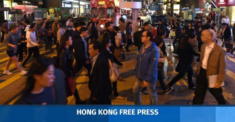 hong kong people street