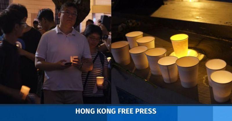 Tsim Sha Tsui vigil