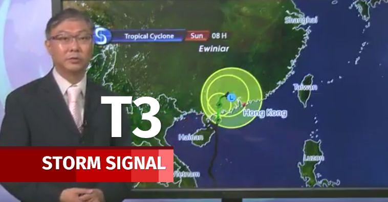 t3 storm signal